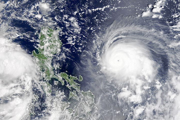 Rapid Intensification for Typhoon Chanthu - selected image