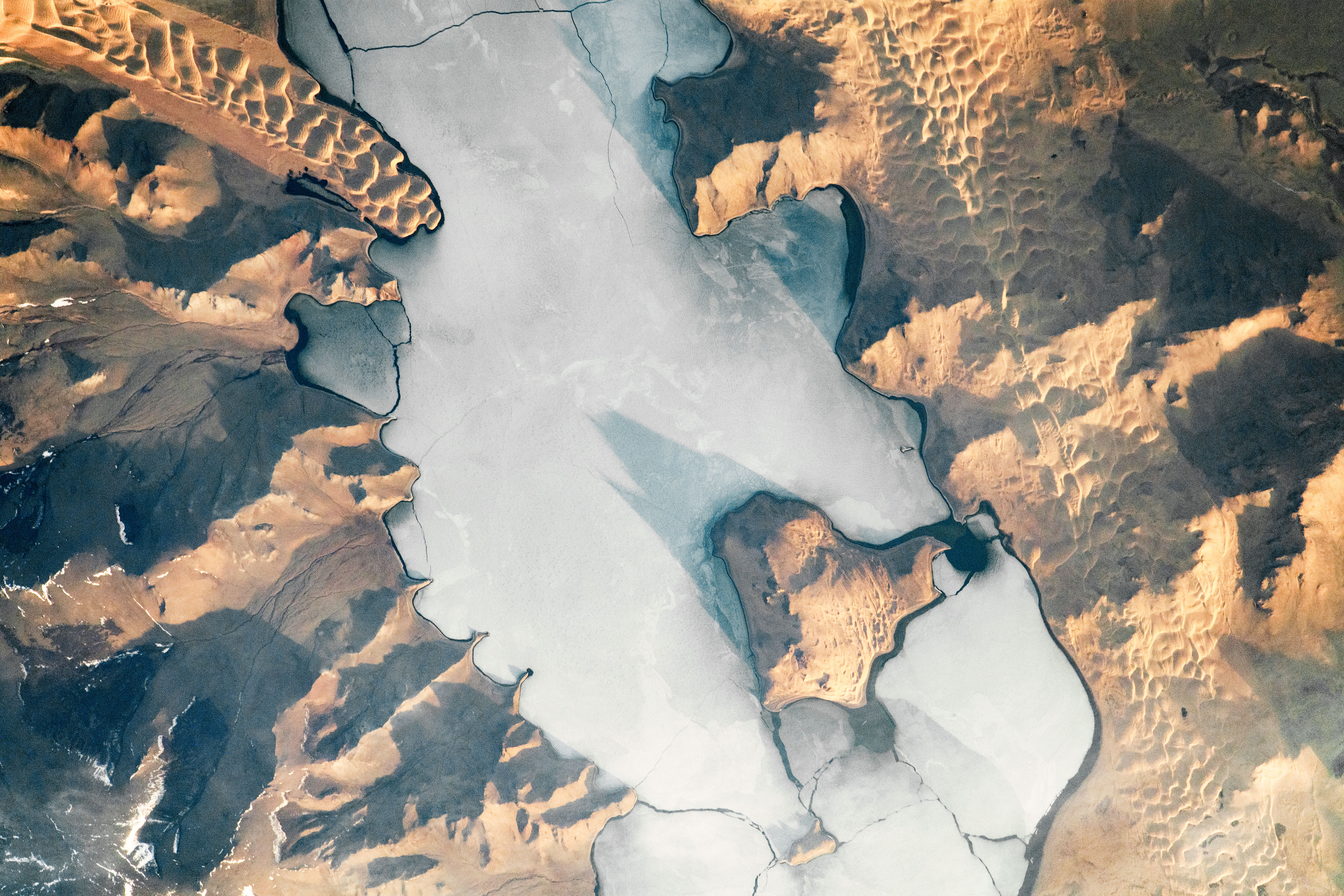 A Meeting of Ice and Dunes - related image preview