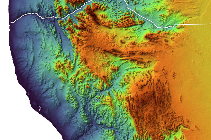 Fossil Fjords in Namibia
