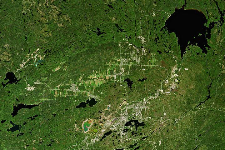 Sudbury Impact Structure - selected image