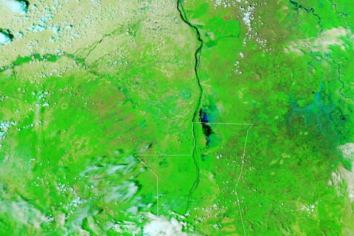 Floods Along the White Nile
