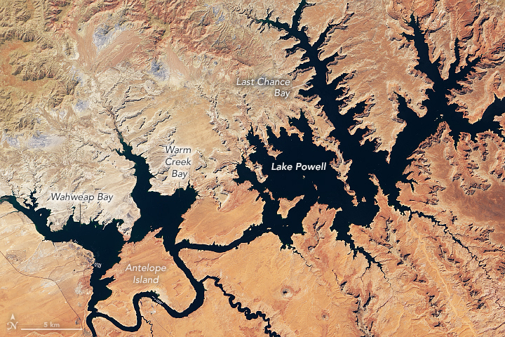 Lake Powell Reaches New Low - related image preview