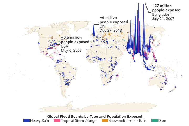 Research Shows More People Living in Floodplains - related image preview