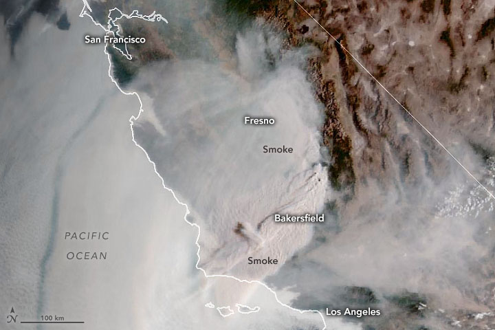 Southern California Under Smoke - related image preview
