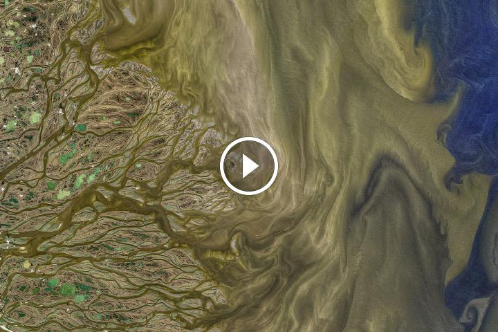 The Arctic's Largest Delta