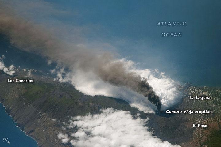 Eruption Continues at La Palma