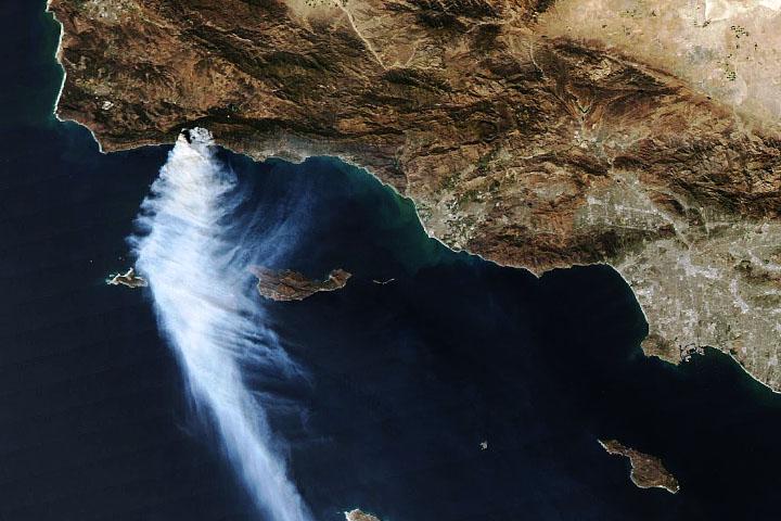 Alisal Fire Rages Near Santa Barbara - selected image