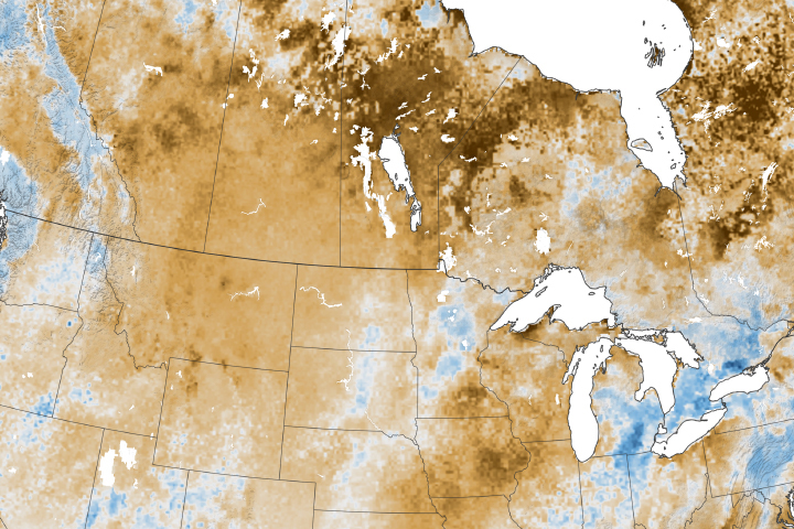 Drought in the Northern Great Plains