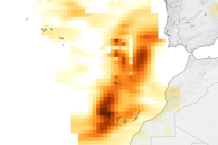 Sulfur Skies over La Palma