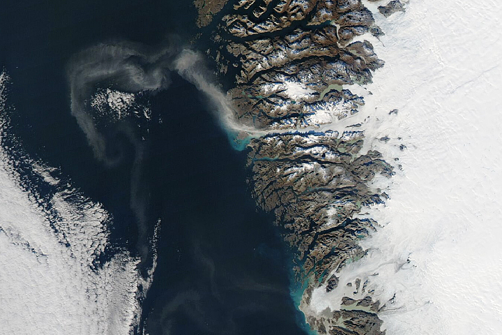 Dust Storms in Greenland