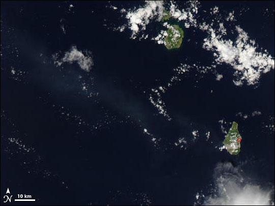 Eruption of Soufriere Hills Volcano, Montserrat