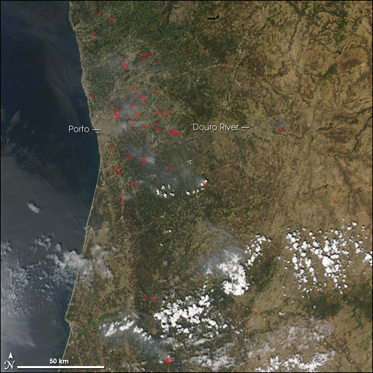 Fires in Portugal