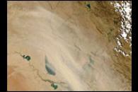 Dust Storm in Iraq