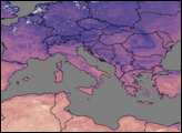 Heatwave in Northern Africa and Southern Europe