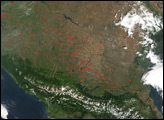 Fires in Russia's Southern Agricultural District