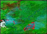 Fires Across Alaska