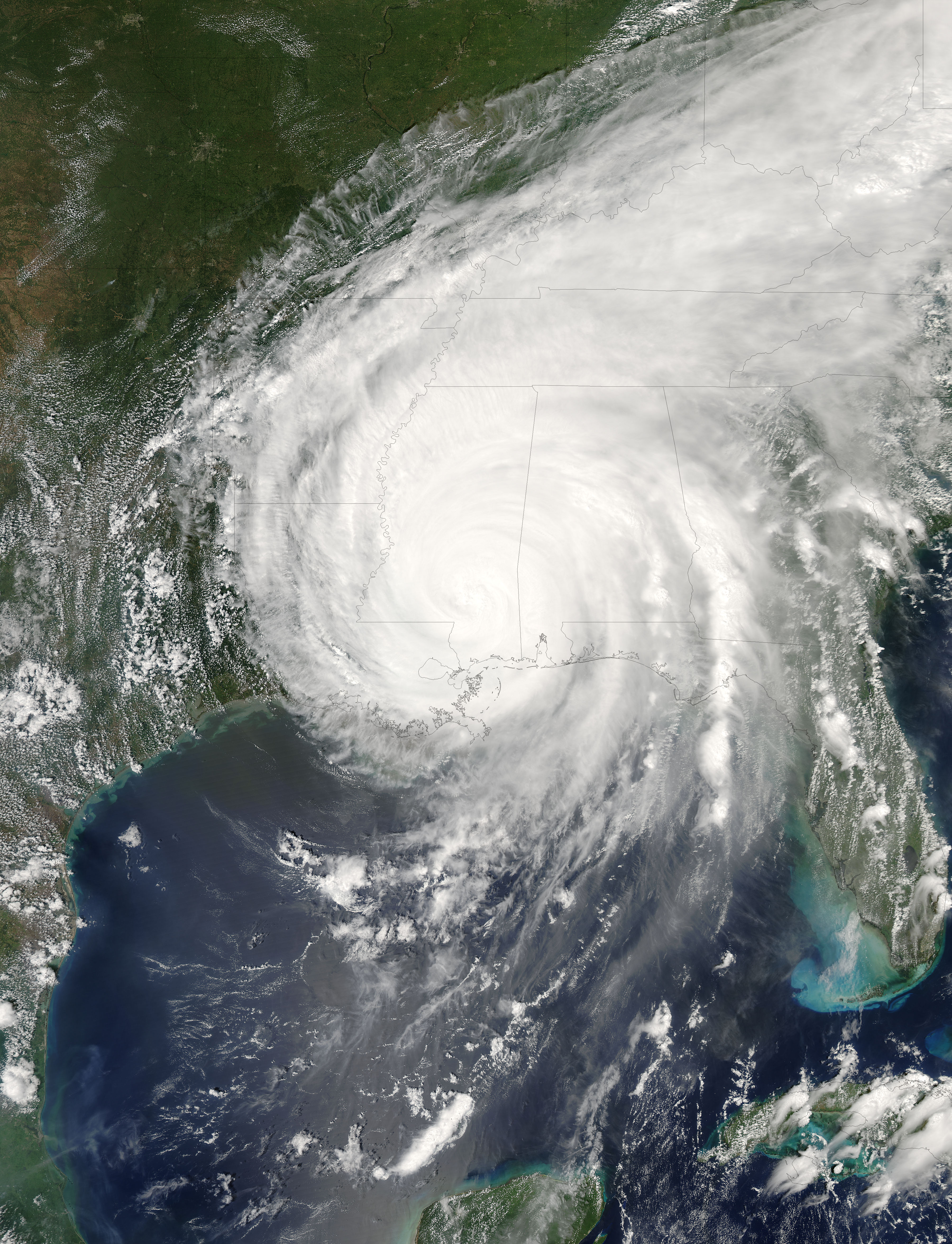 hurricane katrina nasa earth observatory - photo #1