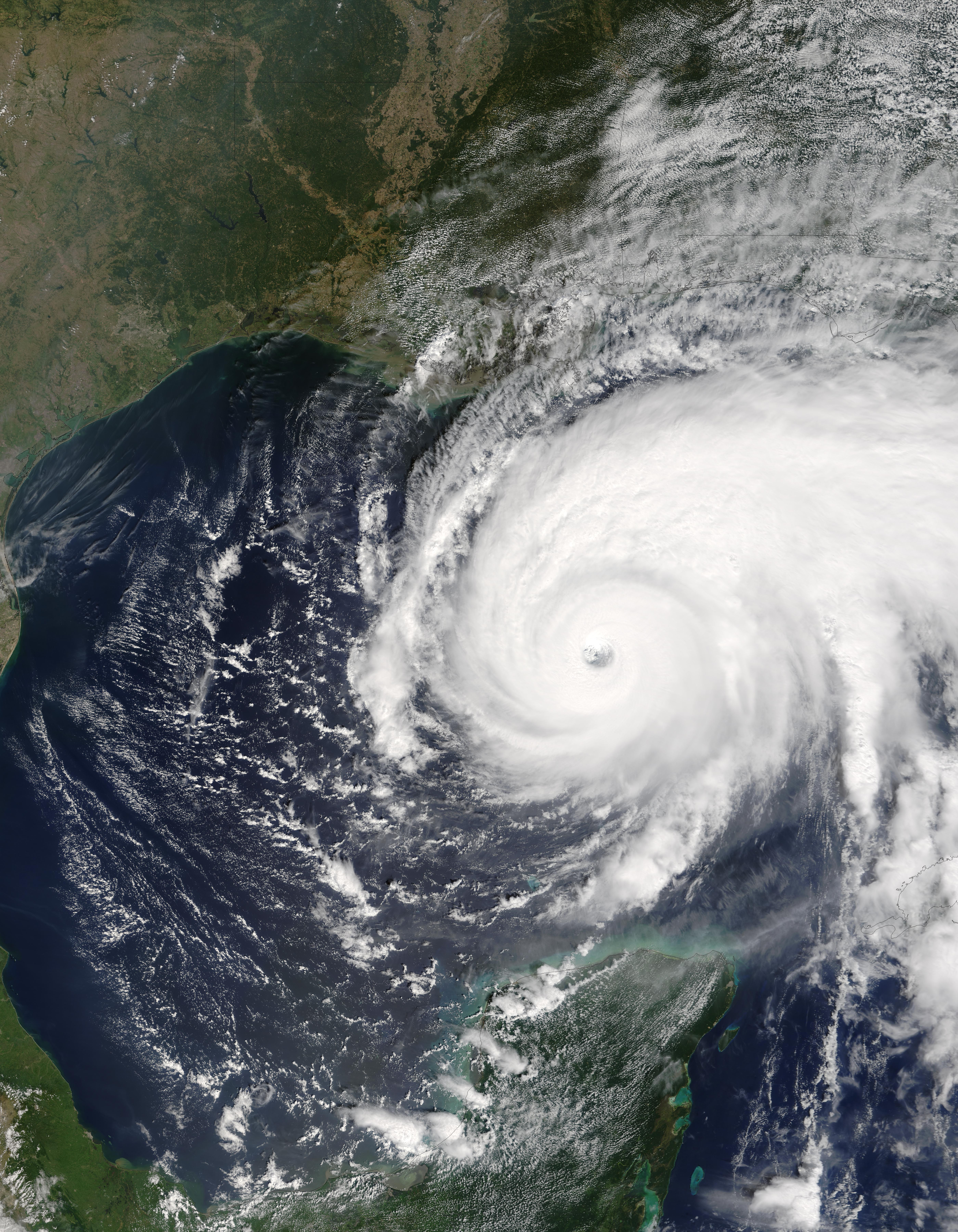 hurricane katrina nasa earth observatory - photo #35