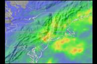 Heavy Rain in the Northeastern United States