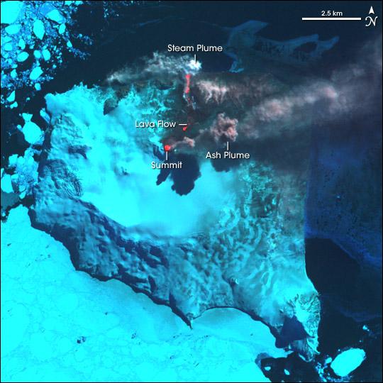 Mount Belinda Erupts