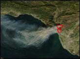 Fire Near Ventura, California