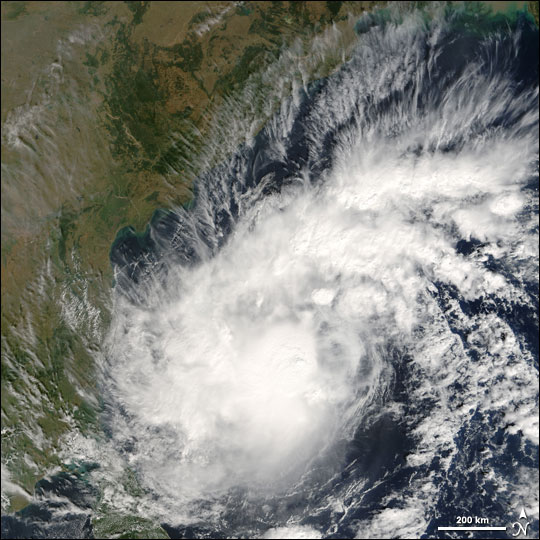 Tropical Cyclone Baaz Approaches India