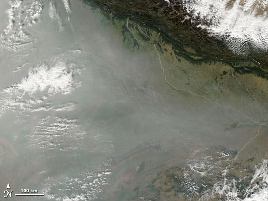 Smog and Fog in India