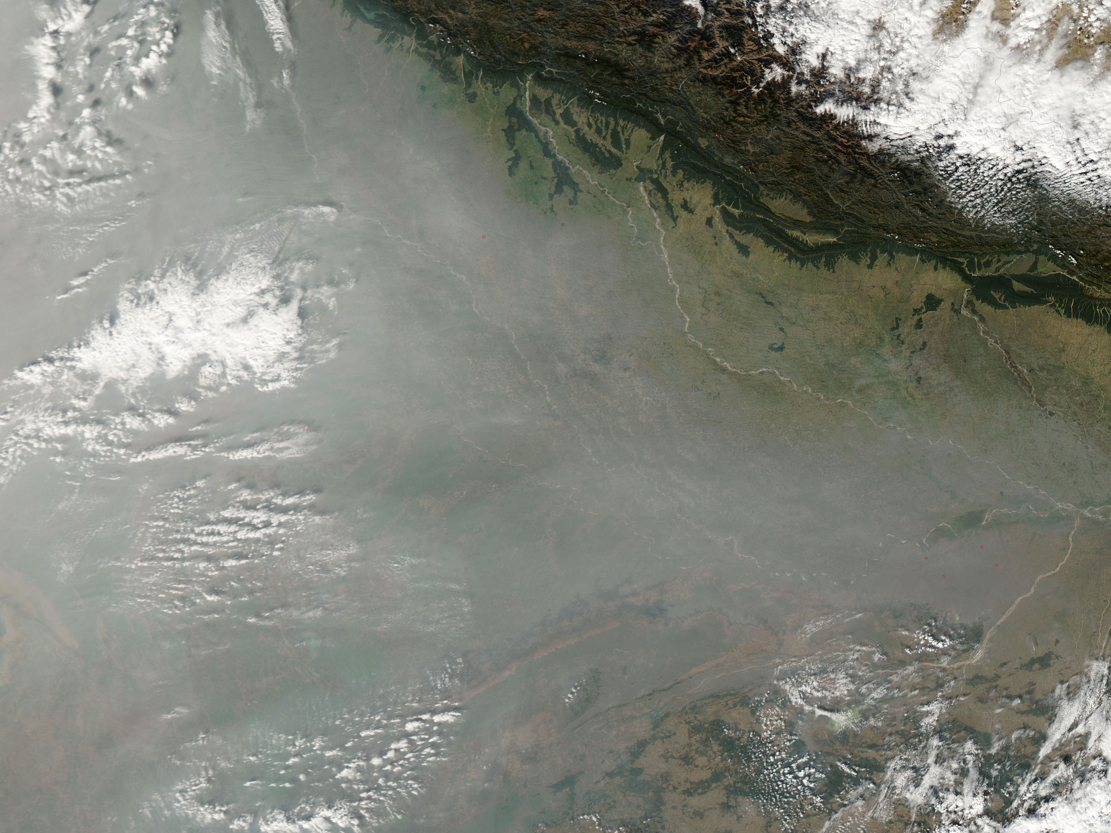 smog and fog in india   natural hazards