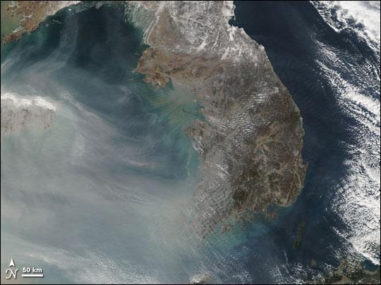 Thick Smog over China
