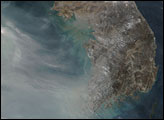 Thick Smog over China