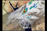 Severe Storm over the Red Sea