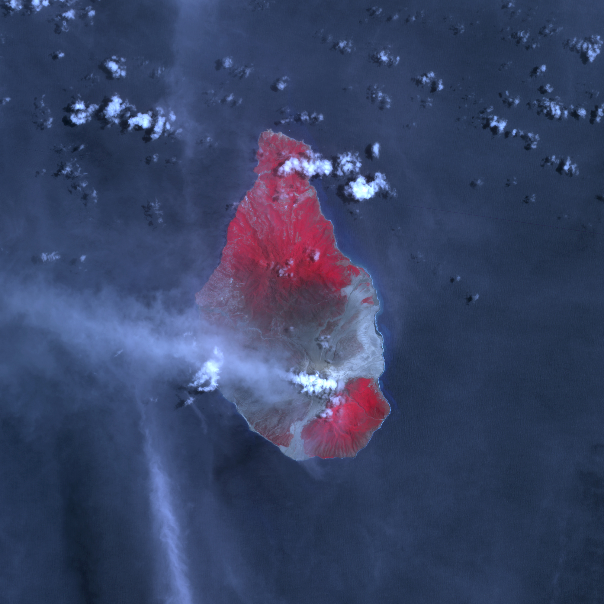 Eruption of Soufriere Hills Volcano - related image preview