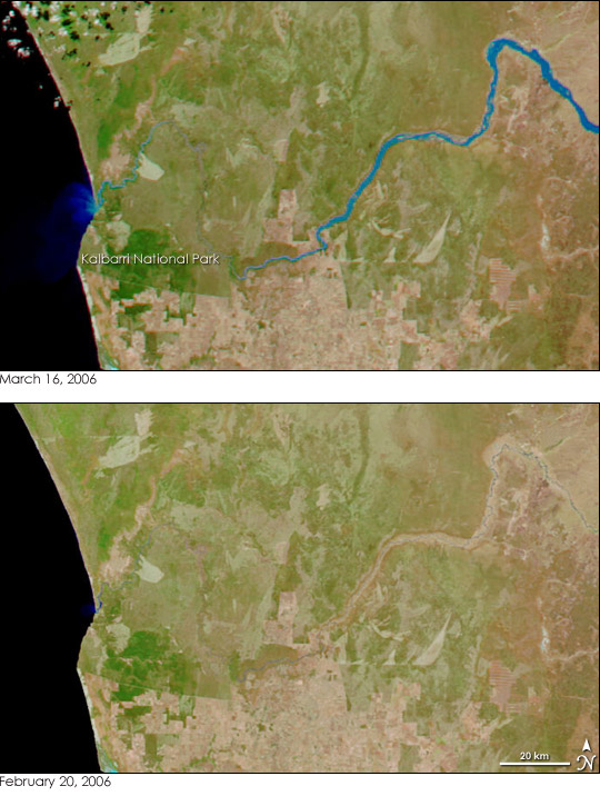 Floods in Western Australia