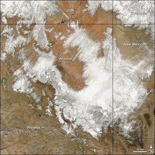 Snow in Arizona