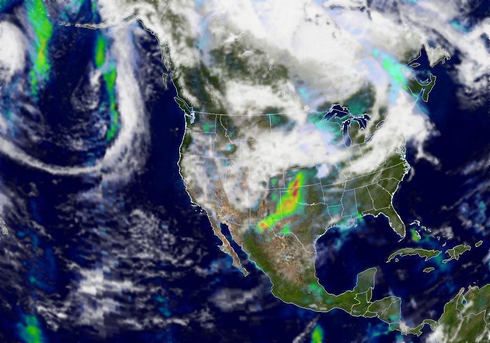 Smoke over Southern United States - related image preview