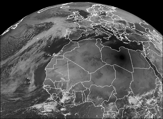 Total Solar Eclipse over Africa and the Mediterranean - related image preview