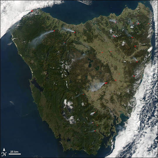 Fires in Tasmania - related image preview