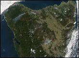 Fires in Tasmania - selected image