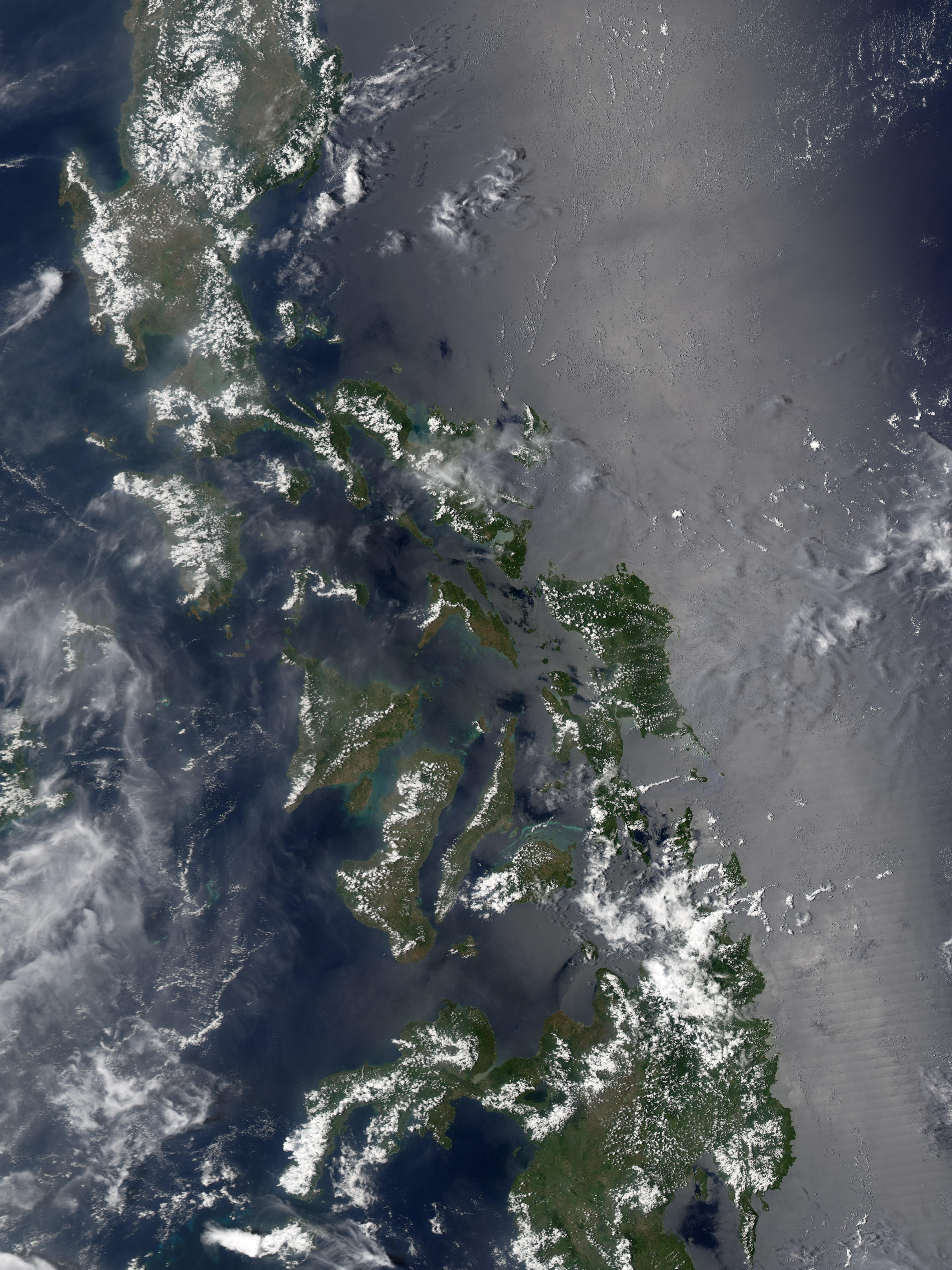 Ash Plume at the Bulusan Volcano : Natural Hazards