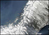 Smoke Over Northern Europe and the Atlantic
