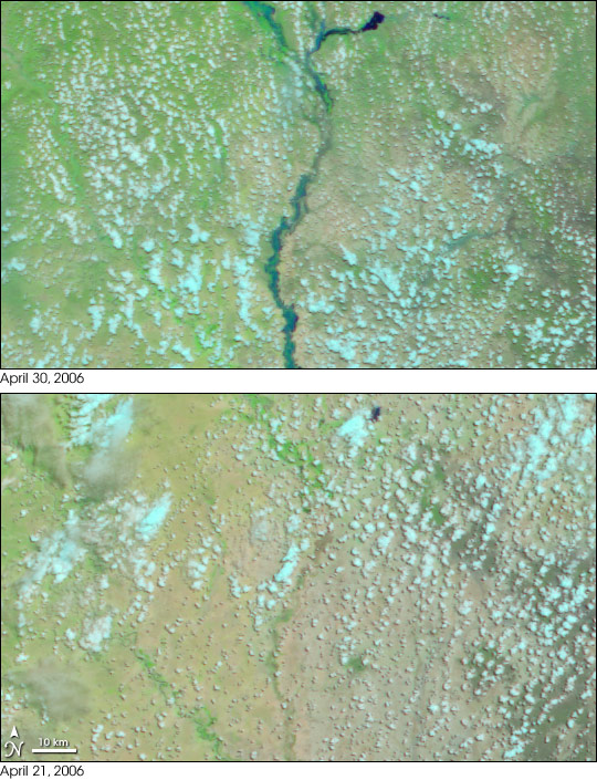 Flooding in Eastern Africa
