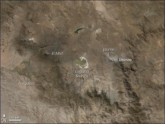 Mount Ubinas, Peru