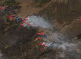 Fires in Southern Siberia