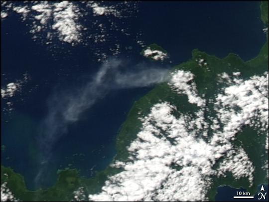 Volcanic Activity on Ulawun