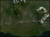 Volcanic Activity on Semeru