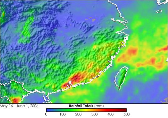 Heavy Rain in Southeastern China