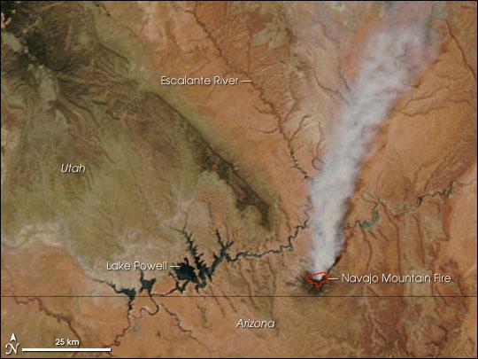 Navajo Mountain Fire