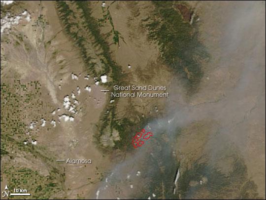 Mato Vega Fire, Colorado