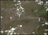 Tungurahua Volcano in Ecuador