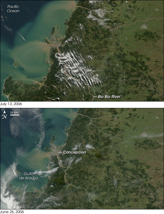 Flooding in Chile